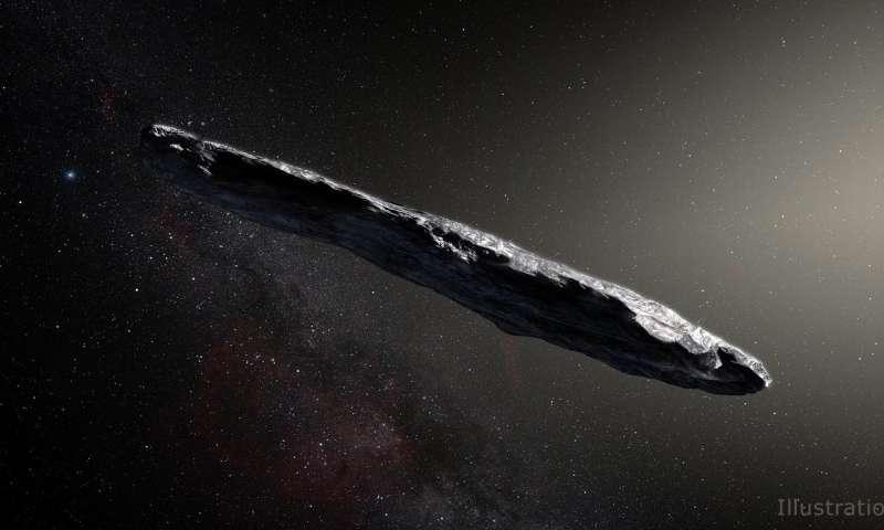 NASA更多地了解星际访客Oumuamua.jpg