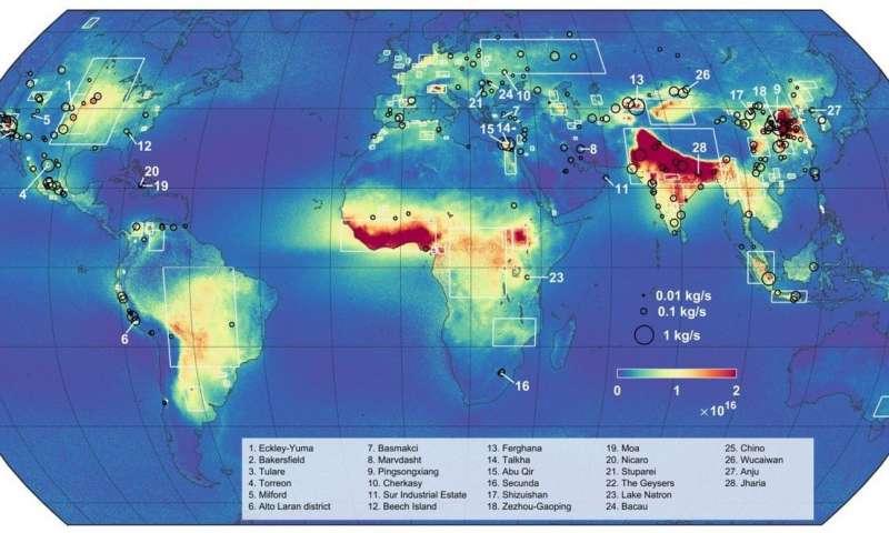 从太空中探测到新的氨气污染排放源.jpg