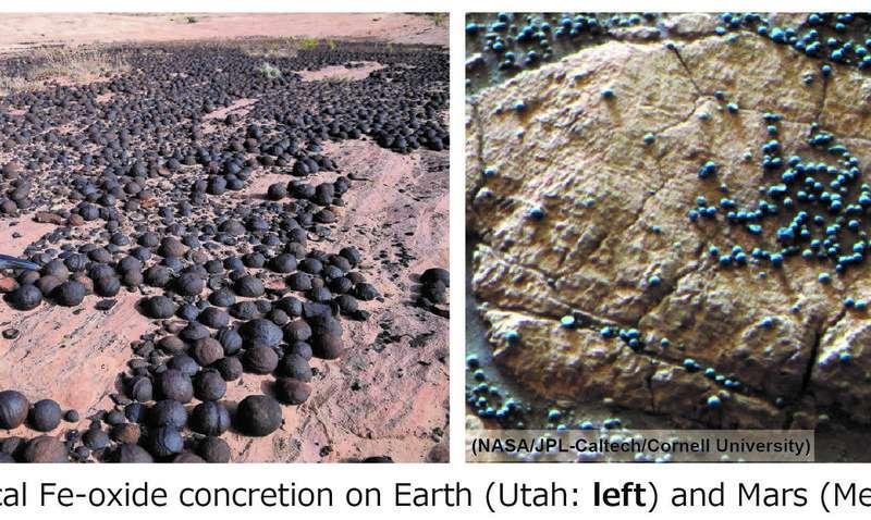 研究人员提出了一种新理论来解释在犹他州和蒙古发现的氧化铁结核.jpg