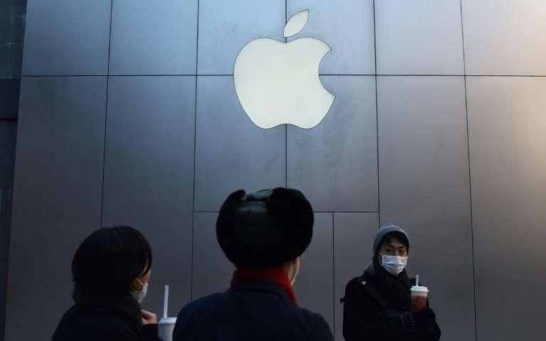 法院下令禁止iPhone销售 但是Apple手机仍在中国销售.jpg