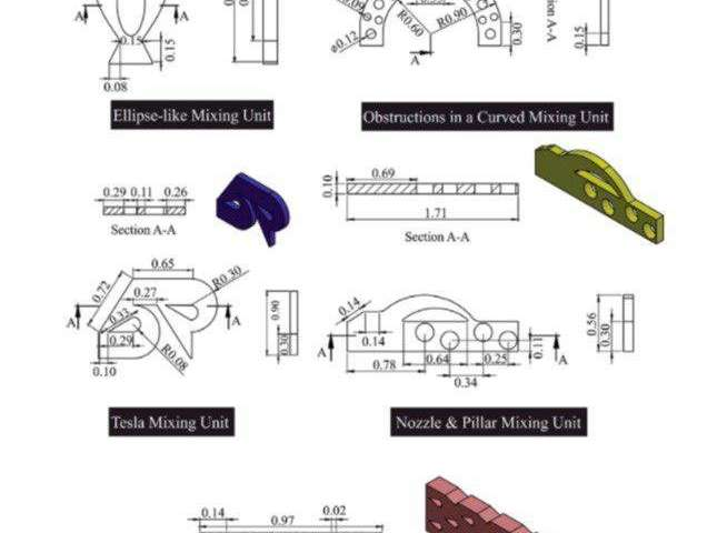 用于生物和化学实验的微混合器的开发.jpg