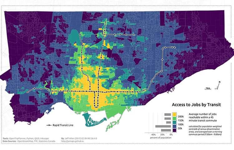 研究人员称100万加拿大人患有交通贫困病.jpg
